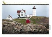 Nubble Lighthouse Cape Neddick Maine 4 Carry-all Pouch by Glenn Gordon