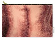Nude Female Torso Drawings 1 Carry-all Pouch