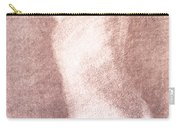 Nude Female Torso Drawings 3 Carry-all Pouch