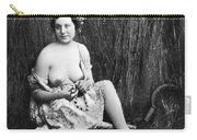 Nude In Field, C1850 Carry-all Pouch
