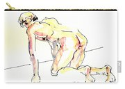 Nude Male Drawings 3w Carry-all Pouch