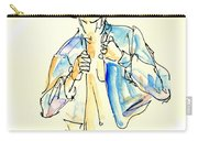 Nude Male Drawings 4w Carry-all Pouch