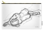 Nude Male Sketches 4 Carry-all Pouch