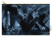 Nude Silhouette In Moonlight Carry-all Pouch