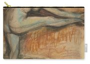 Nude Study For A Dancer At The Bar Carry-all Pouch