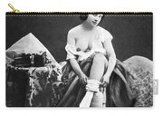 Nude Undressing, C1850 Carry-all Pouch