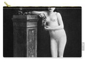 Nude With Grapes, C1850 Carry-all Pouch