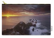 Nugget Point Lighthouse At Sunrise Carry-all Pouch