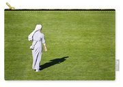 Nun On Green Soccer Field Carry-all Pouch by Brch Photography