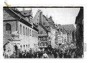 Nuremberg Street Scene Carry-all Pouch
