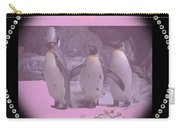 Nursery And Childrens Series Penguins Carry-all Pouch