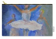 Nutcracker Ballet Carry-all Pouch by Donna Tuten