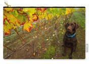 Nute Watches The Vines Carry-all Pouch by Jean Noren