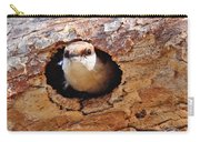 Nuthatch Bird In Nest Carry-all Pouch