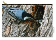 Nuthatch Love Carry-all Pouch