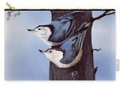 Nuthatch Pair Carry-all Pouch