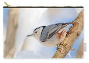 Nutty Nuthatch Carry-all Pouch