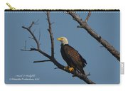 Nw Florida Bald Eagle Iv Carry-all Pouch