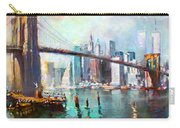 Ny City Brooklyn Bridge II Carry-all Pouch
