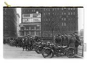 Ny Motorcycle Police Carry-all Pouch by Underwood Archives