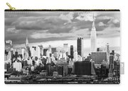 Ny Skyline Light And Shadows Carry-all Pouch