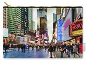 Ny Times Square Impressions I Carry-all Pouch