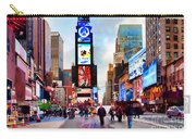 Ny Times Square Impressions IIi Carry-all Pouch