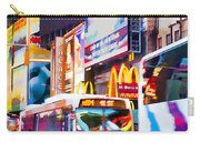 Ny Times Square Impressions Iv Carry-all Pouch