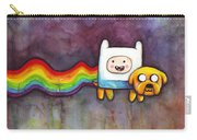 Nyan Time Carry-all Pouch by Olga Shvartsur