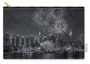 Nyc Celebrate Fleet Week Bw Carry-all Pouch