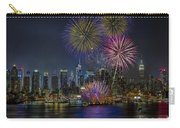 Nyc Celebrates Fleet Week Carry-all Pouch by Susan Candelario