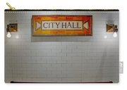 Nyc City Hall Subway Station Carry-all Pouch