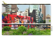 Nyc-high Line Billboard Art Carry-all Pouch