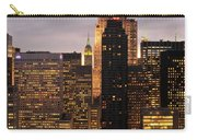 Nyc Midtown Golden Lights Carry-all Pouch