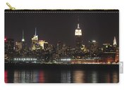 Nyc Skyline At Night Carry-all Pouch