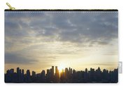 Nyc Sunrise Panorama Carry-all Pouch