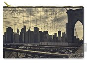 Nyc Through The Web Carry-all Pouch