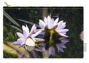 Nymphaea Colorata. Water Lilies Carry-all Pouch