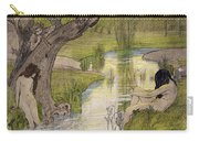 Nymphs Bathing Carry-all Pouch