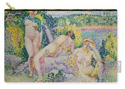 Nymphs Carry-all Pouch by Henri Edmond Cross