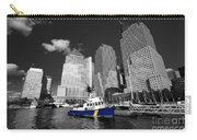 Nypd Blue  Carry-all Pouch by Rob Hawkins