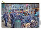 Nypd Highway Patrol Carry-all Pouch by Ron Shoshani