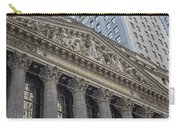 Nyse  New York Stock Exchange Wall Street Carry-all Pouch