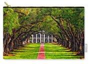 Oak Alley Paint Version Carry-all Pouch by Steve Harrington