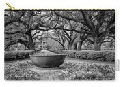 Oak Alley Plantation Landscape In Bw Carry-all Pouch