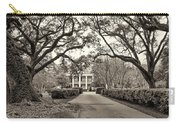 Oak Alley Rear Entrance Sepia Carry-all Pouch