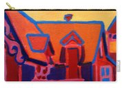 Oak Bluffs In Red Carry-all Pouch