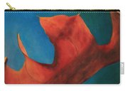 Oak Leaf Oil Painting Carry-all Pouch