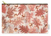 Oak Leaves And Acorns Carry-all Pouch