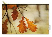 Oak Leaves At Autumn Carry-all Pouch